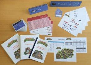 Spielmaterial für das Projektmanagement Planspiel Ubange Safari