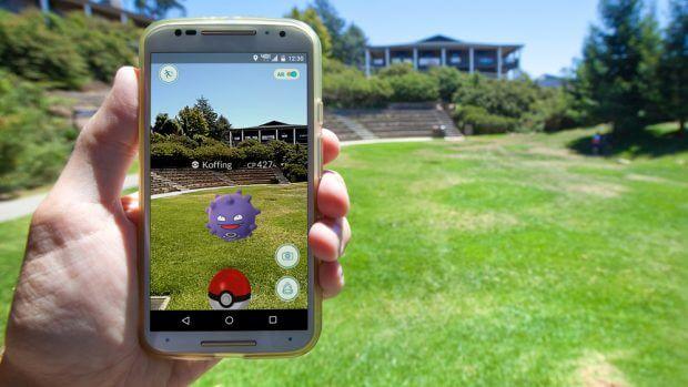 Ein Pokémon in unserer Welt - das nennt man Augmented Reality
