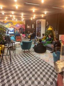 Der UX-Stammtisch am Valentinstag lockte einige Gäste ins Rent 24